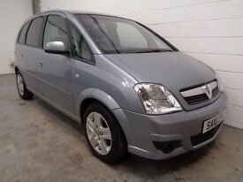 VAUXHALL MERIVA MPV , 2010 , ONLY 52000 MILES + HISTORY , LONG MOT , FINANCE AVAILABLE , WARRANTY