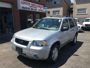 2006 Ford Escape Limited , AWD ,LEATHER SEATS