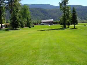 9 HOLE GOLF COURSE IN SICAMOUS, BC