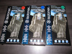 Leather Gloves, ISOTONER SmarTouch, Med., Large & XL, BNIB Kitchener / Waterloo Kitchener Area image 2