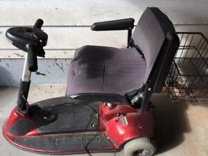 Electric Scooter and vehicle powerchair lift
