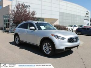 2010 Infiniti FX35 ALL WHEEL DRIVE/NAVIGATION/HEATED AND COOLED