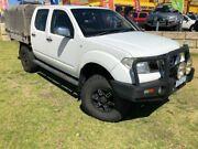 2007 Nissan Navara D40 ST-X White 5 Speed Automatic Utility Wangara Wanneroo Area Preview