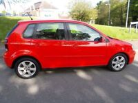Volkswagen Polo 1.2 MATCH (60BHP) (red) 2008