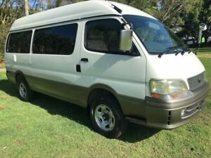 1998 Toyota Hiace KZH138 White 4 Speed Automatic 4x4 Campervan Kunda Park Maroochydore Area Preview