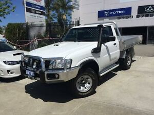 2012 Nissan Patrol MY11 Upgrade DX (4x4) White 5 Speed Manual Cab Chassis Beckenham Gosnells Area Preview