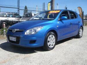 2010 Hyundai i30 FD MY10 SX Blue 5 Speed Manual Hatchback Wangara Wanneroo Area Preview