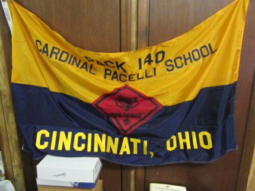 Pack 140 Cincinnati, Ohio Nylon Pack Flag 3by5     eb03