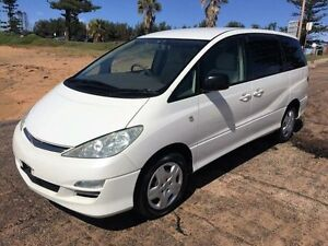 2004 Toyota Tarago CR30 GLX White Automatic Wagon North Manly Manly Area Preview