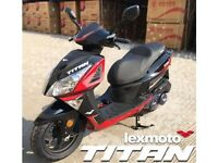 * Brand New 2017 * Lexmoto Titan 125cc EFI . Warranty, Delivery, Part-ex: 25-05