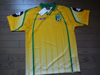 Lithuania 100% Official Soccer Jersey Shirt 2000 Home L Still BNWT NEW Rare image