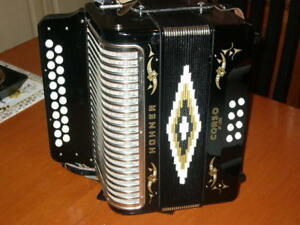 Accordeon Hohner Corso de Luxe en GC