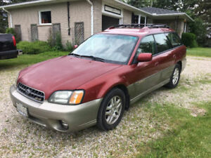2003 Subaru Outback Limited H6 Wagon Great car will leave fast