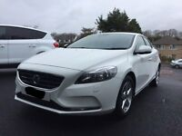 VOLVO V40 HATCHBACK 1.6D D2 SE NAV SEPT 2013 22000 miles. One careful lady owner. FDSH. WINTER PACK.