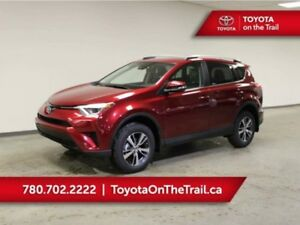 2018 Toyota RAV4 AWD LE; SAFETY SENSE, HEATED SEATS, BACKUP CAME
