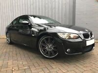 BMW 3 Series 320d M Sport Coupe ....Stunning Black Diesel M Sport, with Full Service History