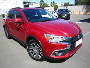 2017 Mitsubishi ASX XC MY17 LS 2WD Red 6 Speed Constant Variable Wagon Melrose Park Mitcham Area Preview