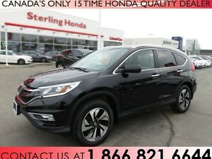 2015 Honda CR-V TOURING | 1 OWNER | ACCIDENT FREE