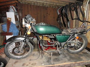 1974 kawasaki h1 500 triple project