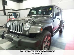 2016 Jeep Wrangler Unlimited Sahara HARD AND SOFT TOP