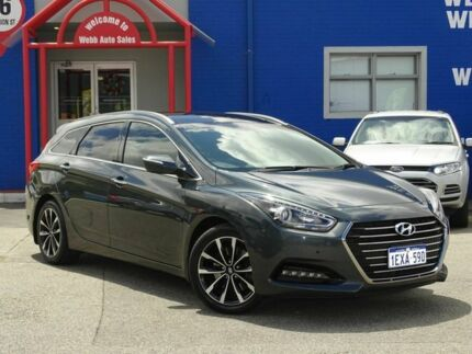 2015 Hyundai i40 VF4 Series II Premium Tourer D-CT Grey 7 Speed Sports Automatic Dual Clutch Wagon