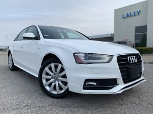 2015 Audi A4 Komfort Plus S Line with moonroof
