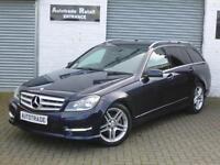 Mercedes-Benz C220 2.1CDI ( 168bhp ) ( COM ) 7G-Tronic Plus 2013MY CDI AMG Sport