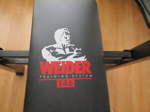 Price change: Weider bench original system #146