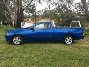 2006 Ford Falcon BF XL SE Blue 4 Speed Auto Seq Sportshift Utility Coonamble Coonamble Area Preview