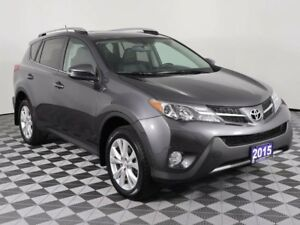 2015 Toyota RAV4 LIMITED w/LOW KMS, MOONROOF, HEATED LEATHER, NA