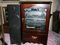 VINTAGE PHILIPS MUSIC CENTRE WITH REMOTE CONTROL