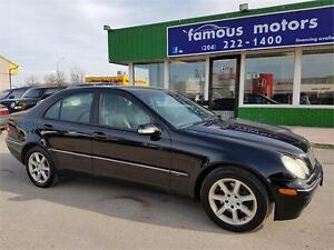 2004 Mercedes-Benz C-Class 2.6L,FRESH SAFETY/GREAT CONDITION/AWD