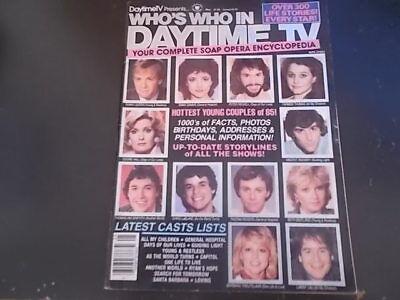 Ryans Hope  General Hospital  Loving   Whos Who In Daytime Tv Magazine 1985