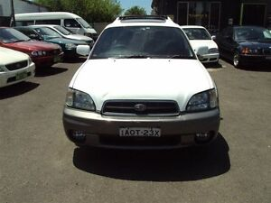 2001 Subaru Outback MY01 Limited White 4 Speed Automatic Wagon Punchbowl Canterbury Area Preview