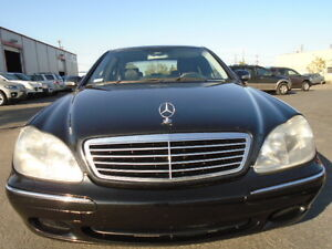 2002 Mercedes-Benz S-500 LUXURY PKG-NAVI-SUNROOF-LEATHER-CLEAN