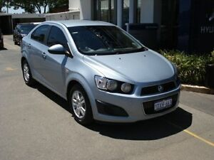 2012 Holden Barina Blue Automatic Sedan Northam Northam Area Preview