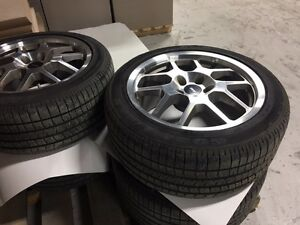 2007 Shelby Mustang GT500 Tires and Rims