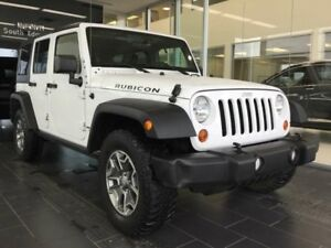 2013 Jeep Wrangler Unlimited RUBICON, 4WD, ACCIDENT FREE