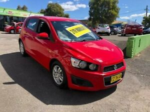 2014 Holden Barina TM MY14 CD Red 6 Speed Automatic Hatchback Lidcombe Auburn Area Preview