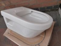 WALL HUNG TOILETS (TWO) - BRAND NEW VILLEROY & BOCH