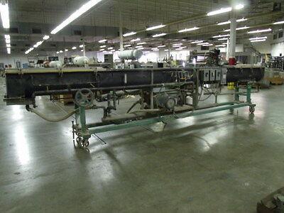 Vacuum Tank Water Bath Polymer Extrusion Sizing Tank  21.5 Feet