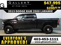 2013 RAM 2500 DIESEL LIFTED *EVERYONE APPROVED* $0 DOWN $299/BW!