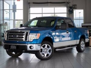 2009 Ford F-150 XLT 4x4 SuperCrew Cab Styleside 5.5 ft. box