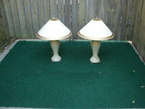 Pair of Elegant Lamps