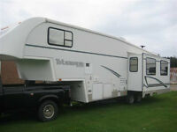 5th Wheel Trailer for Rent