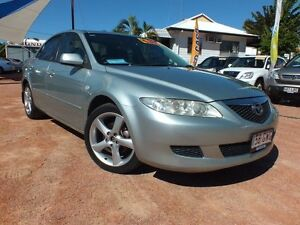 2002 Mazda 6 GG1031 Luxury Silver 4 Speed Sports Automatic Sedan Rosslea Townsville City Preview