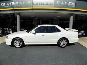 1998 Nissan Skyline R34 GT White Sports Automatic Sedan Brendale Pine Rivers Area Preview