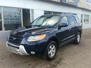 2008 HYUNDAI SANTA FE AWD |  BLUETOOTH | ALLOYS | GREAT SHAPE
