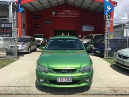2004 Ford Falcon BA XR6 Green 4 Speed Sports Automatic Sedan Clontarf Redcliffe Area Preview