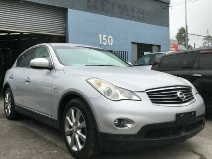 2009 Infiniti EX 370GT Crossover Silver 7 Speed Tiptronic Wagon